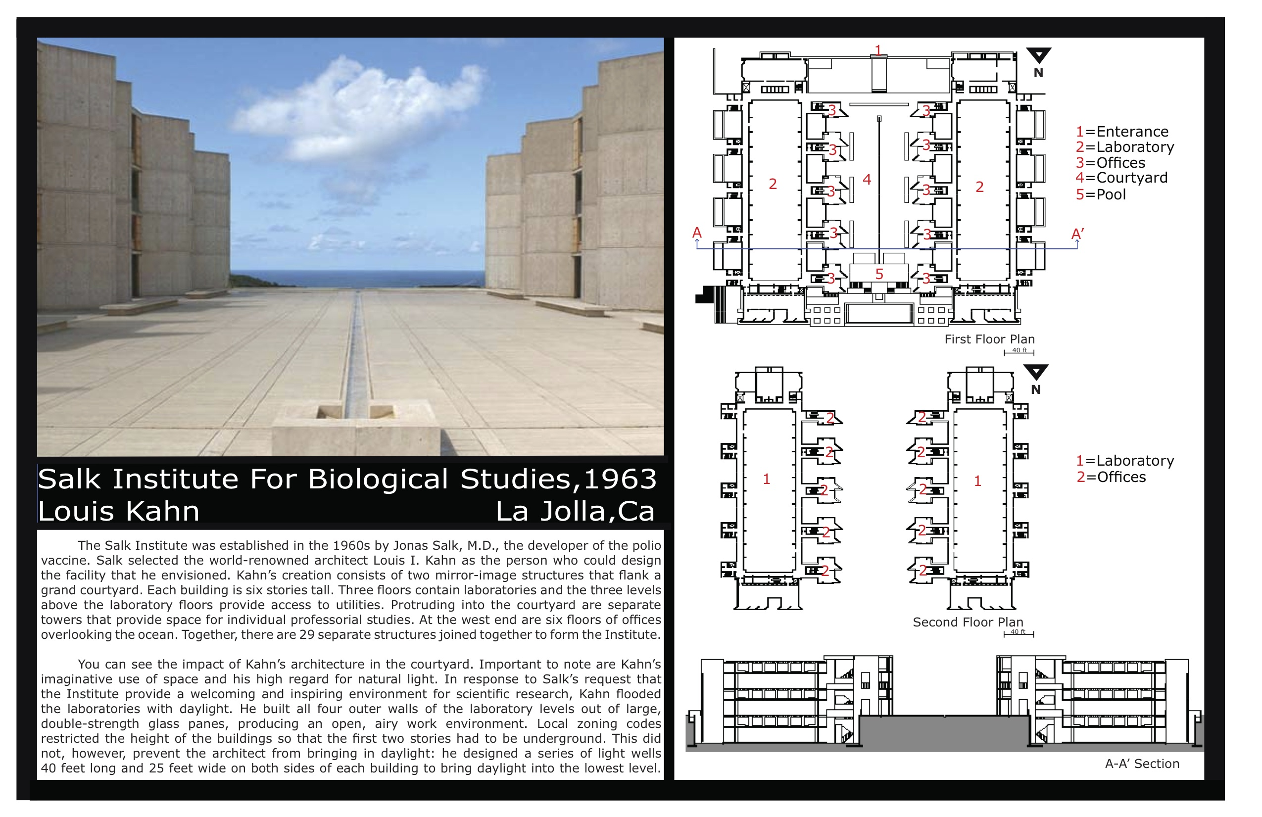 Louis Kahn Floor Plans Salk Institute Hazal Architecture 220 Dvc Sp 2012